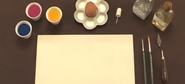 Tempera a l'ou